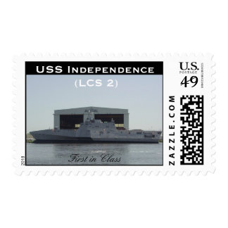 USS Independence Stamp