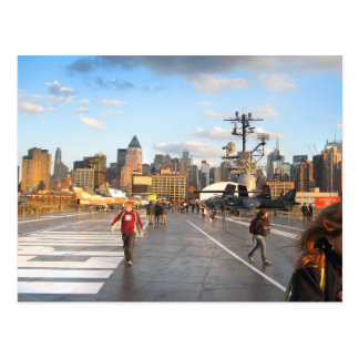 USS Intrepid's Flight Deck Postcard