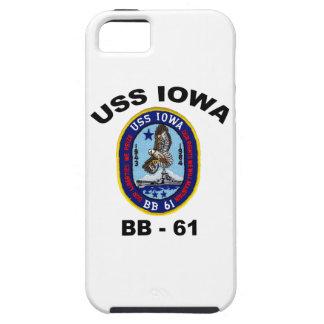 USS Iowa BB-61 iPhone 5 Carcasa