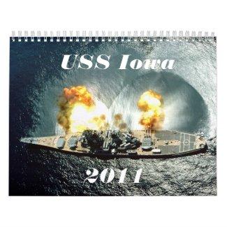 USS Iowa Calendar calendar