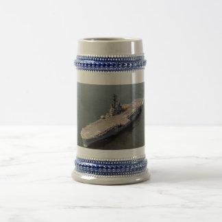 USS IWO JIMA (LPH-2) COFFEE MUGS