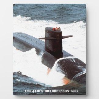 USS JAMES MONROE PLAQUE