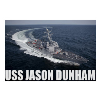 USS Jason Dunham Print