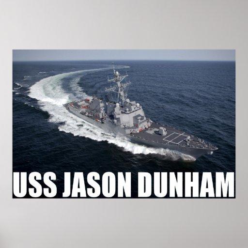 USS Jason Dunham Poster