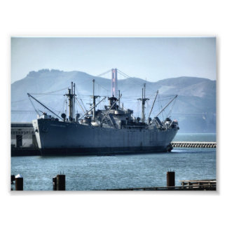 USS Jeremiah O Brien Art Photo
