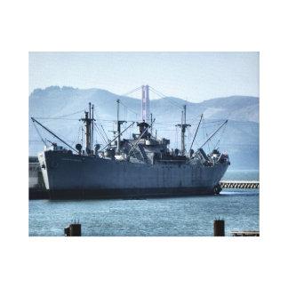 USS Jeremiah O'Brien Canvas Print