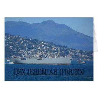 USS Jeremiah O'Brien Card