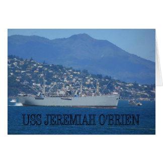 USS Jeremiah O'Brien Greeting Card