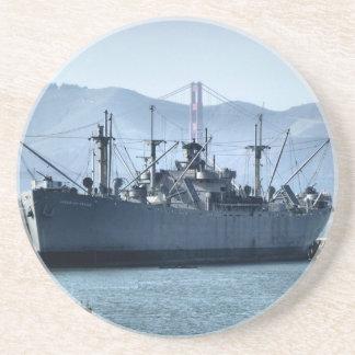 USS Jeremiah O'Brien Drink Coaster
