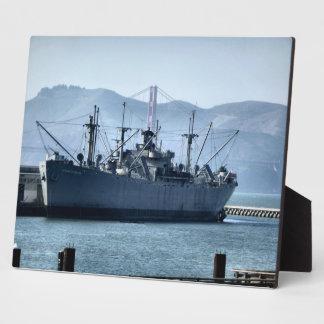 USS Jeremiah O'Brien Photo Plaque