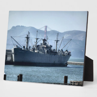 USS Jeremiah O'Brien Plaque