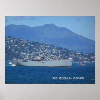 USS Jeremiah O'Brien Poster