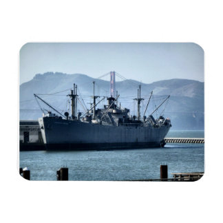USS Jeremiah O'Brien Vinyl Magnet