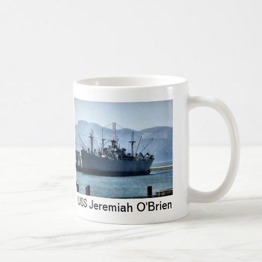 USS Jeremiah O'Brien Tazas