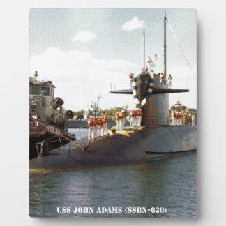 USS JOHN ADAMS PLAQUE