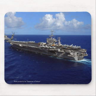 USS JOHN C. STENNIS MOUSE PAD