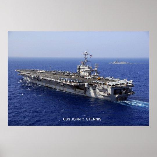 USS John C. Stennis Poster