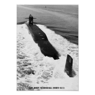 USS JOHN MARSHALL POSTER