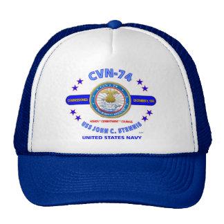 """USS JOHN STENNIS """"CVN-74"""" NAVY CARRIER CAP"""