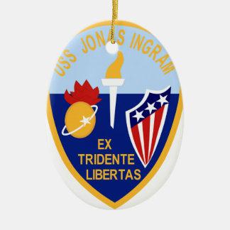 USS Jonas Ingram Ornamentos Para Reyes Magos