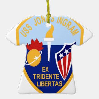 USS Jonas Ingram Ornamento De Reyes Magos