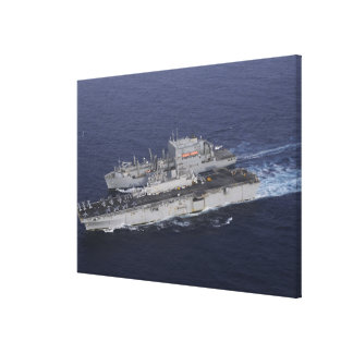USS Kearsarge Stretched Canvas Prints