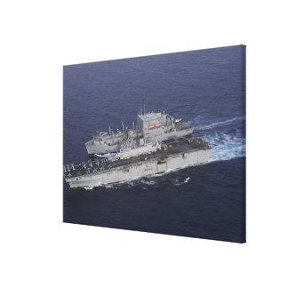 USS Kearsarge Canvas Print