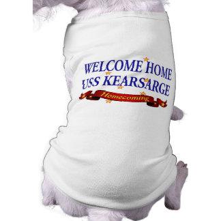 USS Kearsarge casero agradable Playera Sin Mangas Para Perro