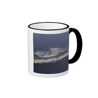 USS Kearsarge Ringer Mug