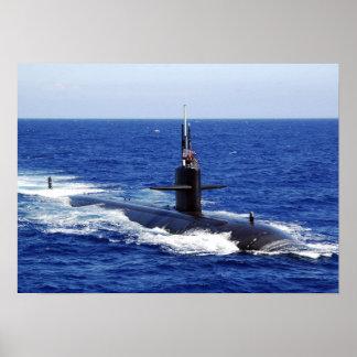 USS Key West (SSN-722) Poster