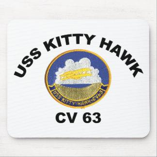 USS Kitty Hawk (CV-63) Mouse Pad