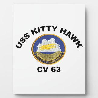 USS Kitty Hawk (CV-63) Plaque