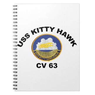 USS Kitty Hawk (CV-63) Spiral Notebook