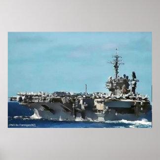 USS KITTY HAWK PÓSTER