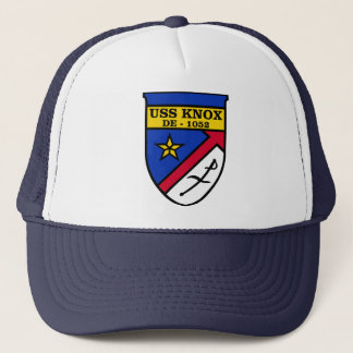 USS Knox DE-1052 Trucker Hat