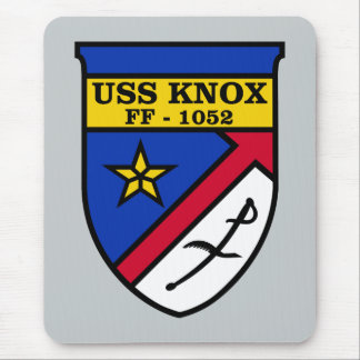 USS Knox FF-1052 Mouse Pad