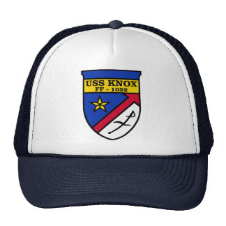 USS Knox FF-1052 Trucker Hat