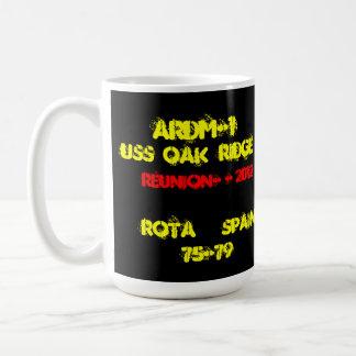 USS la Oak Ridge ARDM-1MUG Tazas De Café