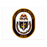 USS Lake Champlain (CG 57) Postcard