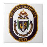 USS Lake Champlain (CG 57) Tile