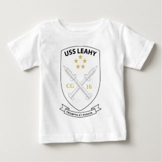 USS Leahy - Guided Missile CG16 - 2 Baby T-Shirt