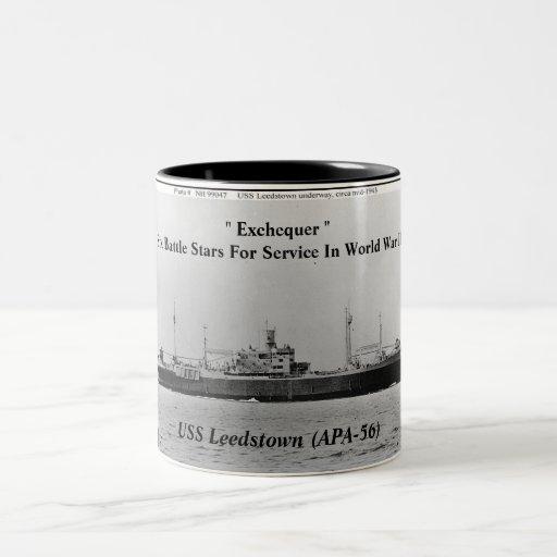 USS Leedstown (APA-56) Taza