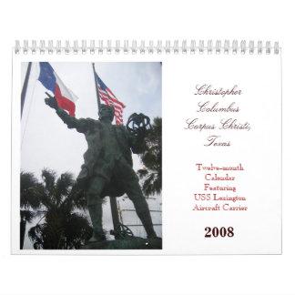 USS Lexington Calendario De Pared