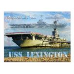 USS Lexington (CV-16), Corpus Christi, Tejas Postal