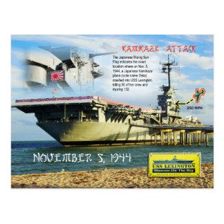 USS Lexington (CV-16), Corpus Christi, Texas Post Card
