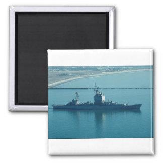 """USS Long Beach"""", CGN-9 crucero de propulsión nucle Imán Para Frigorífico"""