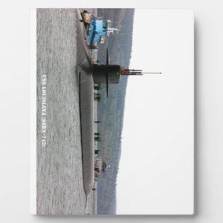 USS LOUISIANA PLAQUE