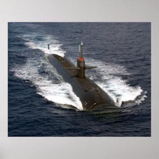 USS Louisville (SSN 724) Póster