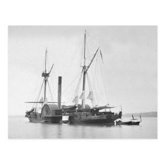 USS Maratanza, 1862 Postcard