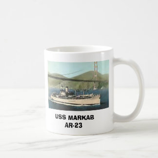 USS MARKAB AR-23 COFFEE MUG